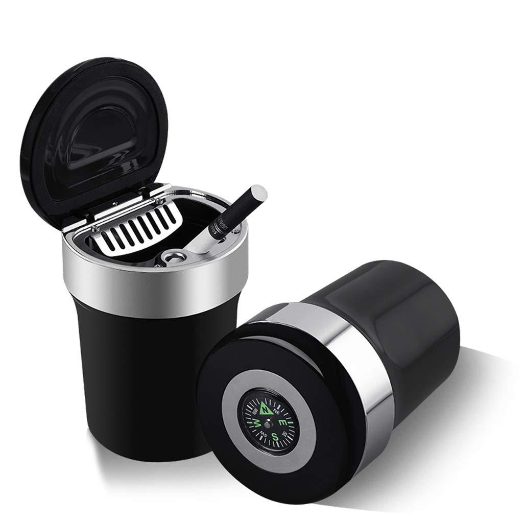Portable Ashtrays Multi-Purpose Small Trash Can Universal in-car Ashtray with Cover Creative Car Ashtray Home Table Ash Trays
