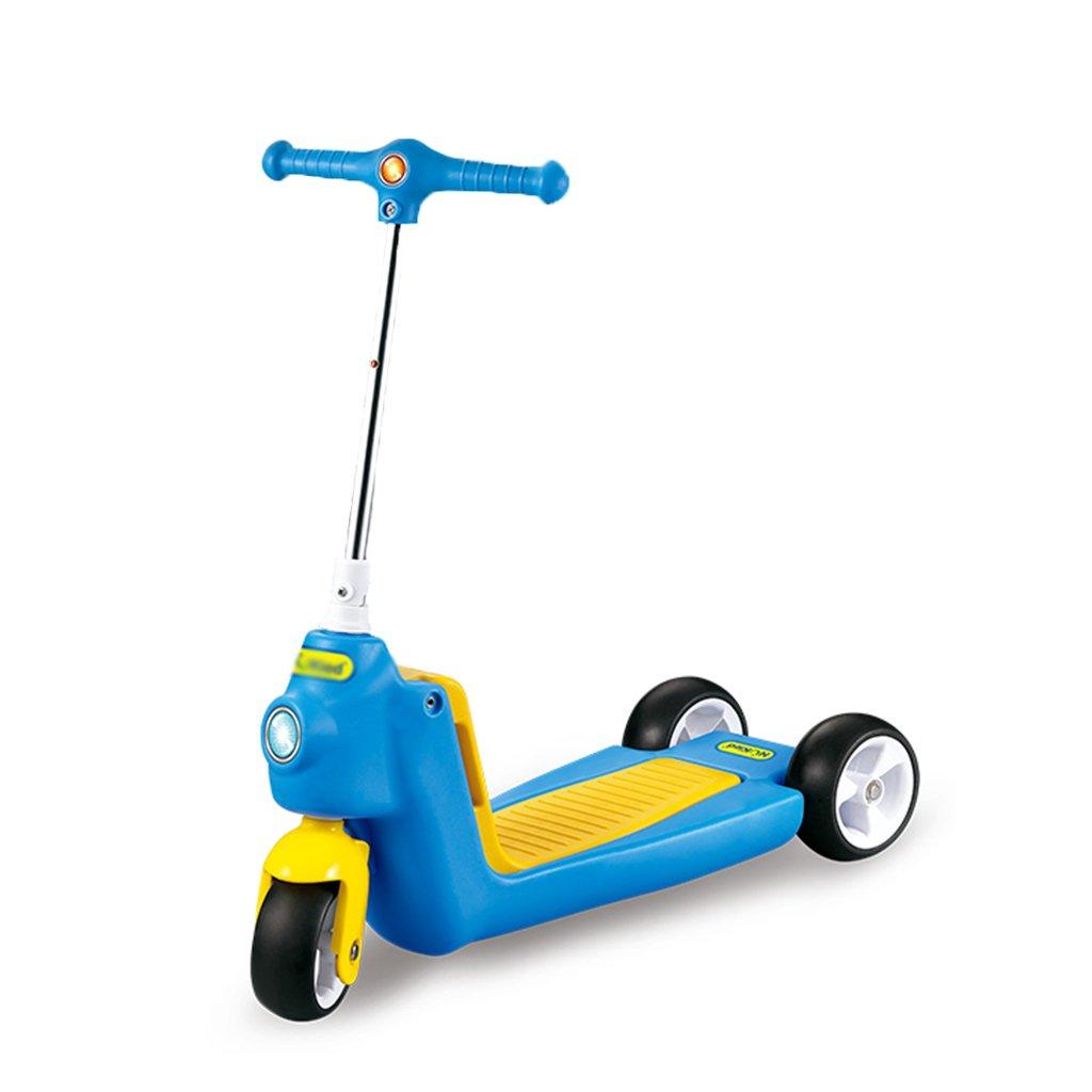折りたたみ式のスクーター調節可能な子供折りたたみ式の歩行器多機能スライドの車のPUの車輪は3-10歳に座ることができます(625** 225 B07FYB1SYM* 660ミリメートル) B07FYB1SYM Blue* Blue, アートワークスタジオ:850e137d --- 2chmatome2.site