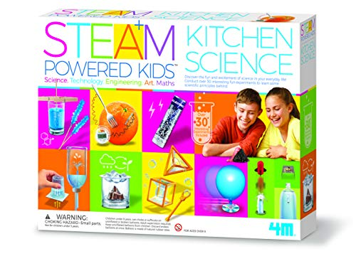 4M Steam Powered Kids Kitchen Science Kit (Best Chemistry Kits For Kids)