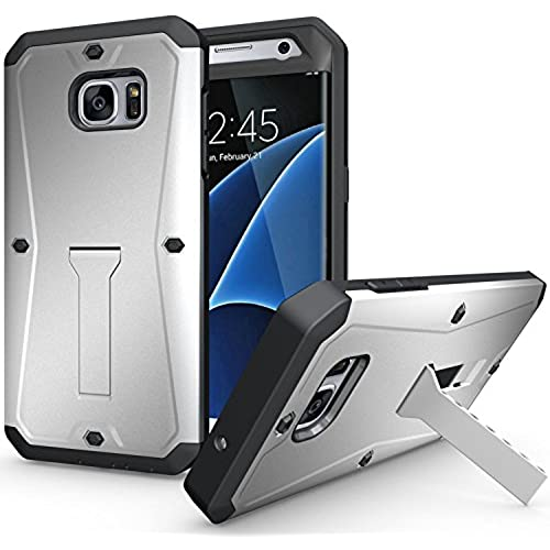 S7 Edge Case, Peyou 3 in 1 [Premium Rugged] Protective Case for Samsung Galaxy S7 Edge 2016, Front PC Case + [ Sales