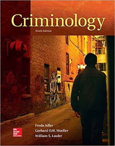 Test bank for criminology 2nd canadian edition by adler.