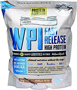 Protein Supplies Australia Whey Protein Isolate Vanilla Bean, 3 kilograms