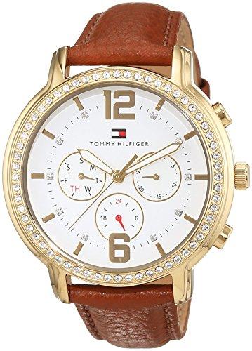 Tommy-Hilfiger-casual-Sport-mujer-reloj-analgico-de-cuarzo-de-cuero-1781660