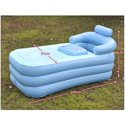 banyan adult pvc folding portable bathtub inflatable bath tub air pump buy online in uae. Black Bedroom Furniture Sets. Home Design Ideas