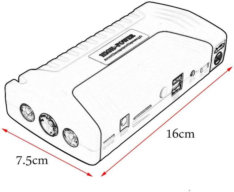 gr/ün 68000ma multifunktionale tragbare Autos Auto Notstart Auto Starthilfe Power Bank mit DREI Lichter Engine Booster