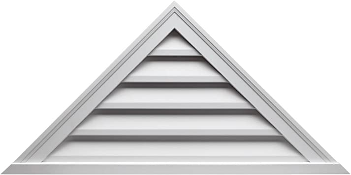 Triangle Functional Louver Fypon FTRLV66X22 66W x 22H Pitch 8//12