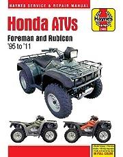 Honda ATVs Foreman and Rubicon '95 to '11