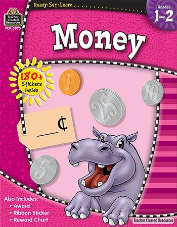 16 Pack TEACHER CREATED RESOURCES READY SET LEARN MONEY GR 1-2