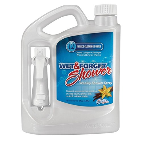 Wet & Forget 801064 1/2 Gal. Shower Cleaner (Spray Forget Cleaner)