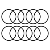 uxcell® NBR o-Ring, 44mm Inner Diameter, 48mm OD, 2mm Width, Round Seal Gasket(Pack of 10)