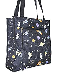 Ever Moda Tote Bag Designer Print Collection for Shopping or Travel