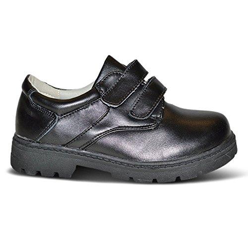 Xelay ,  Jungen Plateau Black Double Velcro