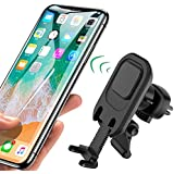 Magnetic Phone Car Mount Holder, Universal Air Vent Cell Phone Holder, Magnetic Car Phone Mount Holder, Magnet Air Vent Car Mount, Magnetic Car Mount, Air Vent Mount, Long Arm Swift-snap with Bracket