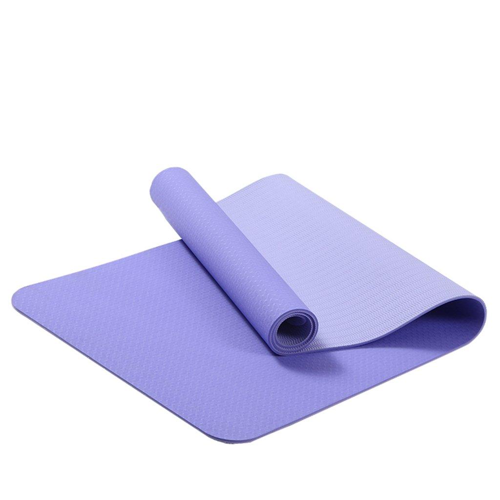 HCJYJD Tappetini per Lo Yoga, ammorbidire Le Lunghezze allungabili, Tappetino per Il Fitness Tappetino per Principianti Antiscivolo (colore    4)