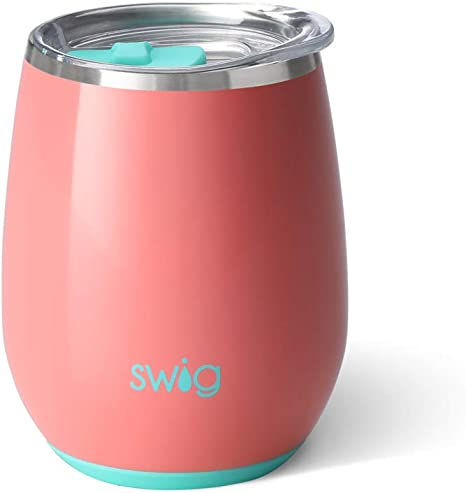Swig Life ISLAND BLOOM 32 OZ TUMBLER STAINLESS STEEL Hot Cold NEW