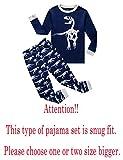 Family Feeling Little Boys Snug-Fit Pajamas Long