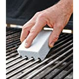 Ecological Odorless Grilling Stone Cleaner,Removes Encrusted Greases, Stains, Residues, Dirt,Reusable De-Scaling 2Pack