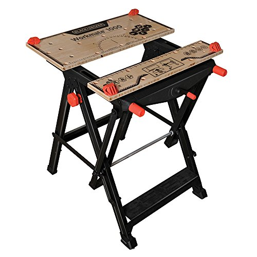 (BLACK+DECKER BDST11000 Workmate Workbench 550lb Capacity Work Bench WM1000)