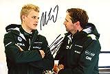 Ericsson & Albers CATERHAM F1 autograph, signed photo