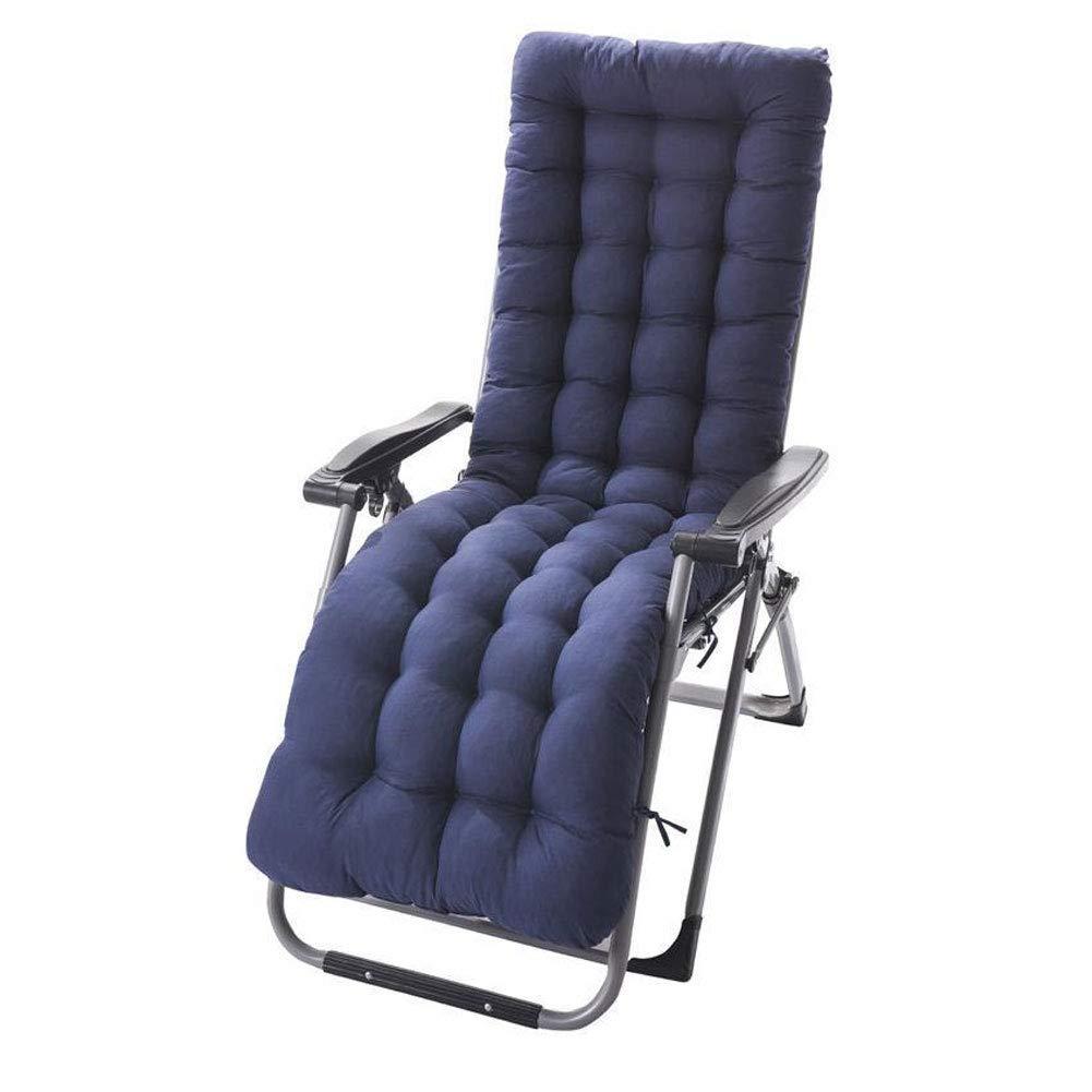 PUAO Cojines para Silla de salón, Pep Grueso para Patio Interior/Exterior de 61 Pulgadas, reclinable, portátil, Duradero, colchón para Tumbona
