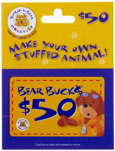Build-A-Bear Gift Card $50