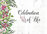 Celebration Of Life: Guest Book For Funeral