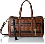 Fossil Kendall Satchel, Multi/Brown