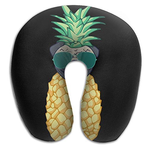 Pineapple Pug Sunglasses Super U Type Pillow Neck Pillow Outdoor Travel Pillow Relief Neck - Sunglass To Straps Where Buy