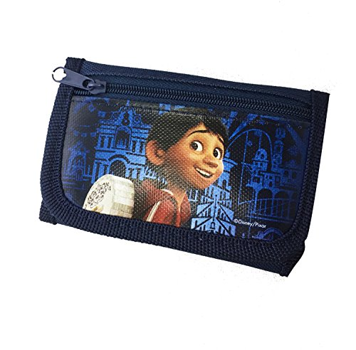 Price comparison product image 1pc Disney Movie Licensed COCO Tri-Fold Wallet for Kids blue