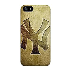 Apple Iphone 5/5s DHN21450Avbv Unique Design Realistic New York Yankees Pictures Scratch Resistant Hard Cell-phone Cases -NataliaKrause