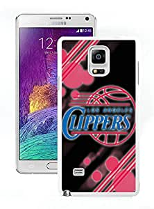 New Custom Design Cover Case For Samsung Galaxy Note 4 N910A N910T N910P N910V N910R4 Clippers 12 White Phone Case