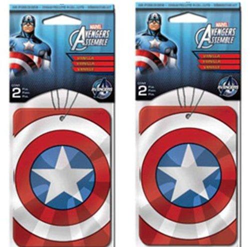 captain america air freshener - 4