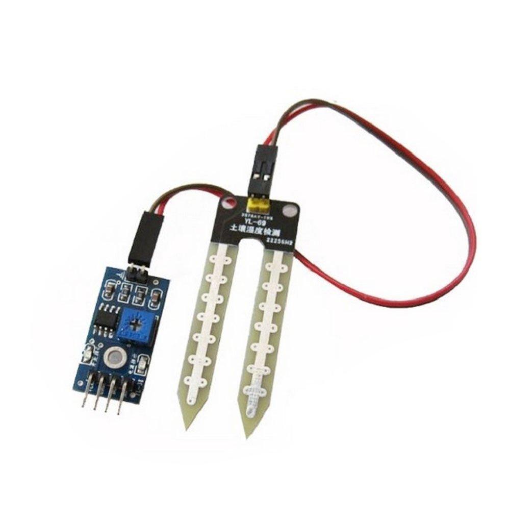 ARCELI 5pcs Soil Hygrometer Moisture Detection Water Sensor Module YL-69 Sensor HC-38 Module Arduino