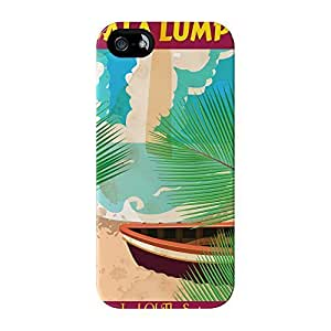 Kuala Lumpur Full Wrap High Quality 3D Printed Case for iPhone 5 / 5s by Nick Greenaway + FREE Crystal Clear Screen Protector