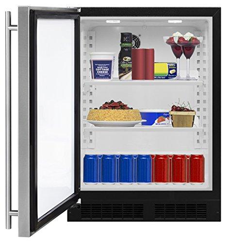 AGA Marvel ML24RAS1LS Refrigerator, Left Hinge Stainless Steel Door, 24-Inch