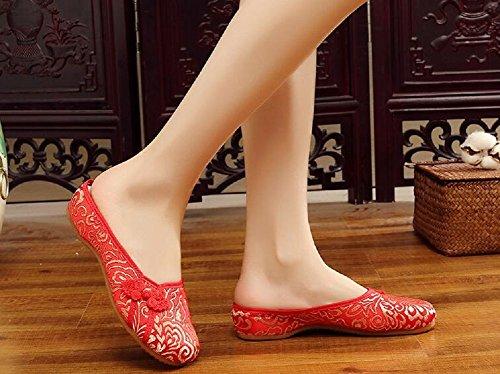 Lona Lazutom Por Para Estar Red Mujer De Casa Zapatillas 4FrxqXB4
