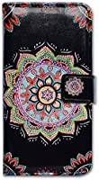 iPhone 6S Case,iPhone 6 Case, Bfun Packing Bcov Colorful Mandala Flower Card Slot Wallet Leather Cover Case For iPhone 6 6S