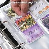 Rayvol 4-Pocket Binder for Pokemon Cards, Fits 480