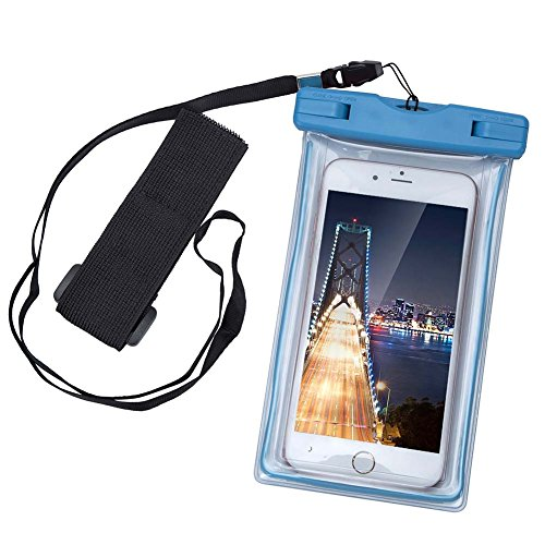 KATTEONG Waterproof Case Dry Bag Cell Phone Pouch with Mi...