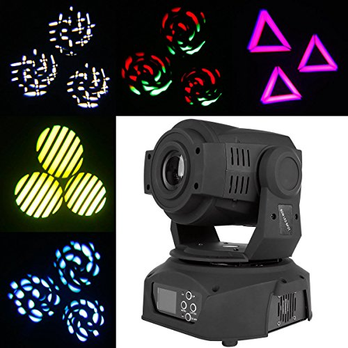 Tengchang Updated 60W DMX512 LED Spot Beam 75W 3 Prism Moving Head Stage Light DJLighting