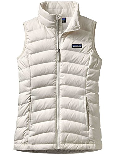 Patagonia Girls' Down Sweater Vest (L, Birch White) (Patagonia Womens Down Vest Apparel)