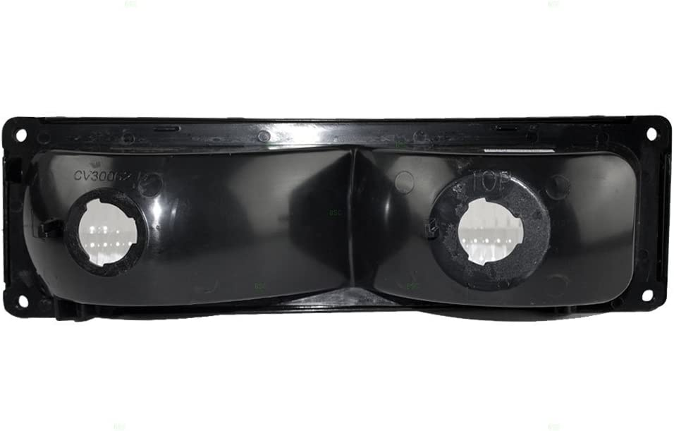 Aftermarket Replacement Driver Park Signal Front Marker Light Compatible with 1996-2002 Express Savana Van 5977271