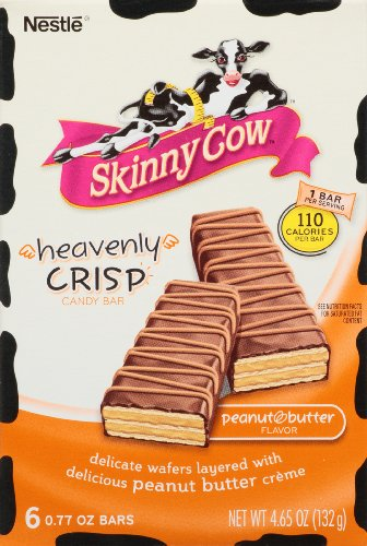 Nestle Skinny Cow Heavenly Crisp Chocolate Peanut Butter ...