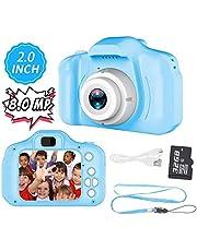 Caméra pour Enfants vidéo/Photo HD 1080p écran LCD 2 Pouces avec SD / 32GB