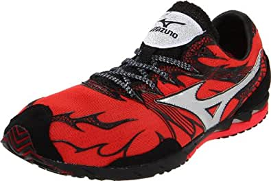 Mizuno Wave Universe 4 Running Shoe,Spicy Red/Silver/Anthracite,5.5 D US