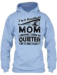 Handball Cool Tshirt - I'm A Handball Mom T Shirt Design