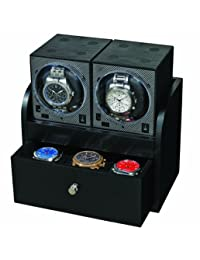Boxy Wooden Housing With 2 Single Watch Winder