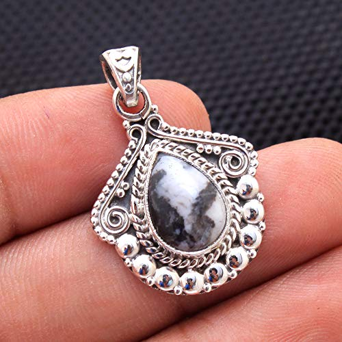 Summer Special White Buffalo Turquoise Gemstone Designer Pendant 925 Sterling Silver Jewelry Vintage Silver Pendant Antique Jewelry Silver Jewelry