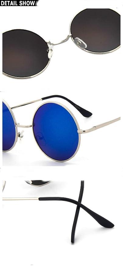 Amazon.com: anteojos de sol Chic-Net Unisex Ronda anteojos ...