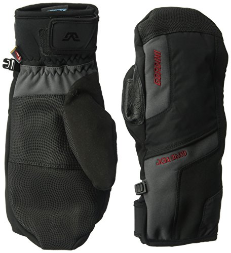 - Gordini Men's Men's Challenge XIII Waterproof Insulated Mittens, Black/Gun Metal, Medium